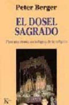 el dosel sagrado: para una teoria sociologica de la religion-peter berger-9788472454439