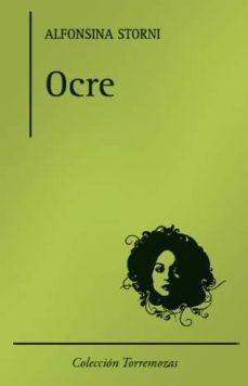 ocre-alfonsina storni-9788478394739