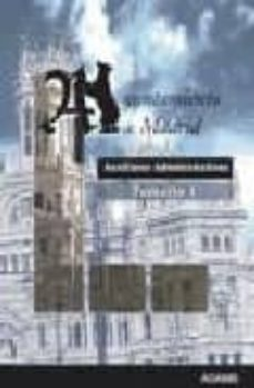 Permacultivo.es Auxiliares Administrativos Ayuntamiento De Madrid (Temario 1) Image