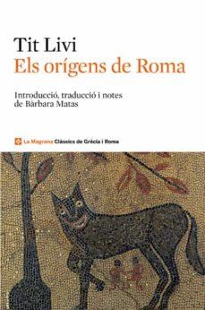els origens de roma-tito livio-9788482646039