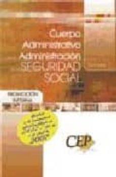 Padella.mx Temario Oposiciones Cuerpo Administrativo De La Administracion De La Seguridad Social (Promocion Interna) Image