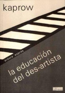 educacion del des-artista-allan kaprow-9788488020239