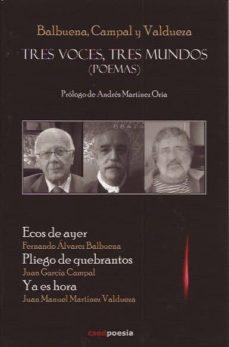 Geekmag.es Tres Voces, Tres Mundos (Poemas) Image