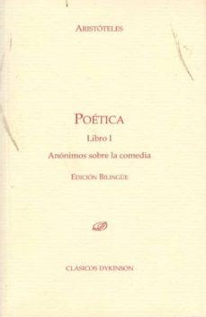 Geekmag.es Poetica. Libro 1 Anonimos Sobre La Comedia (Bilingue) Image
