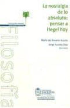 Permacultivo.es La Nostalgia De Lo Absoluto: Pensar A Hegel Hoy Image