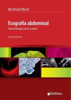 Descargas gratuitas para libros de kindles ECOGRAFÍA ABDOMINAL 9789873954139