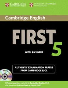 Descargar CAMBRIDGE ENGLISH FIRST 5 CAMBRIDGE ESOL SELF-STUDY PACK ) gratis pdf - leer online