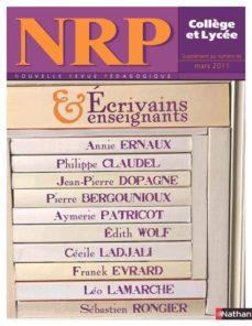 nrp ecrivains et enseignants - mars 2011 (ebook)-9782091110349