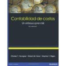 Descargar CONTABILIDAD DE COSTOS. UN ENFOQUE GERENCIAL gratis pdf - leer online