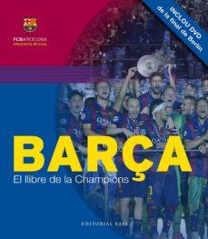 barça. el llibre de la champions (incluye dvd)-david salinas-merce morales-9788416166749