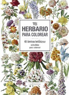 mi herbario para colorear-9788416984749