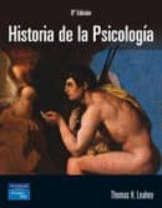 Descargar HISTORIA DE LA PSICOLOGIA gratis pdf - leer online