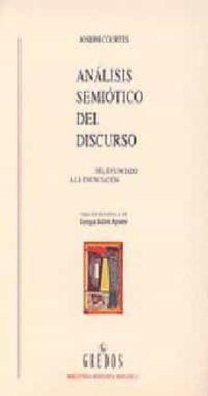 Inmaswan.es Analisis Semiotico Del Discurso: Del Enunciado A La Enunciacion Image