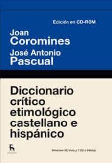 Chapultepecuno.mx Diccionario Critico Etimologico (Edición Electrónica) Image
