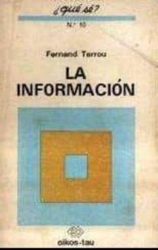 LA INFORMACION - FERNAND TERROU | Triangledh.org