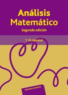 analisis matematico (2ª ed.)-tom apostol-9788429150049