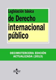 Cdaea.es Legislación Básica De Derecho Internacional Público (13ª Ed.) Image