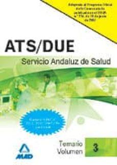 Padella.mx Ats-due Del Servicio Andaluz De Salud. Sas. Temario (Vol. Iii) Image