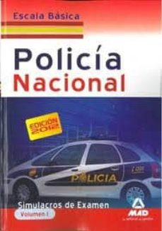 Emprende2020.es Escala Basica De Policia Nacional. Simulacros De Examen. Volumen I Image