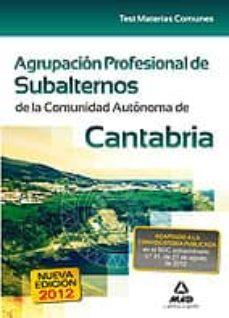 Debatecd.mx Agrupación Profesional De Subalternos De La Comunidad Autónoma De Cantabria Image