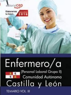Srazceskychbohemu.cz Enfermero (Personal Laboral Grupo Ii) Comunidad Autónoma Castilla Y León. Temario Vol. Iii. Image