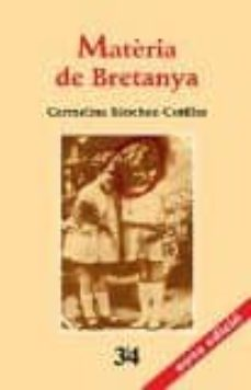 Ebook descargar gratis cz MATERIA DE BRETANYA CHM 9788475029849 in Spanish
