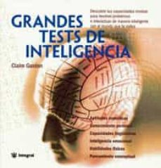 Descargar GRANDES TESTS DE INTELIGENCIA gratis pdf - leer online