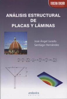 Descargar ANALISIS ESTRUCTURAL DE PLAZAS Y LAMINAS gratis pdf - leer online