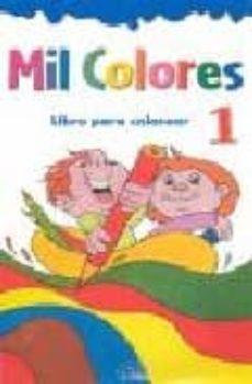 mil colores: libro para colorear 1-9788489910249