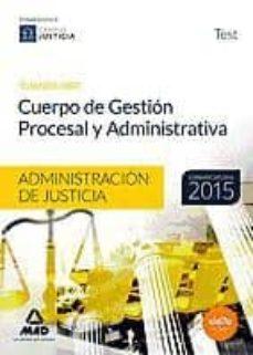 Inmaswan.es Cuerpo De Gestión Procesal Y Administrativa De La Administración De Justicia (Turno Libre). Test Image