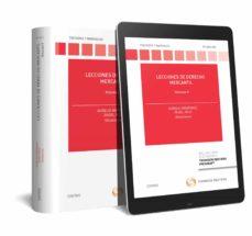 Descargar LECCIONES DE DERECHO MERCANTIL, TOMO II gratis pdf - leer online