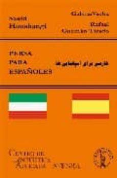 Descargando libros de google books en pdf PERSA PARA ESPAÑOLES DJVU 9788495855749