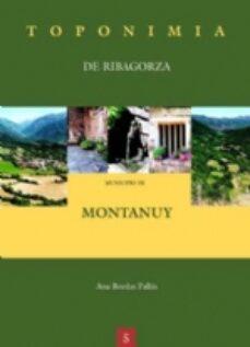 Mejor descarga de libros electrónicos MUNICIPIO DE MONTANUY-TOPONIMIA
