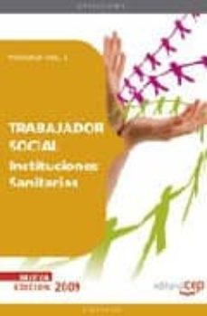 Javiercoterillo.es Trabajador Social Instituciones Sanitarias. Temario Vol. Ii. Image