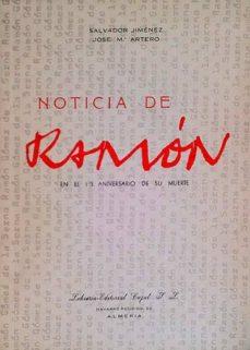 NOTICIA DE RAMÓN - SALVADOR JIMÉNEZ | Adahalicante.org