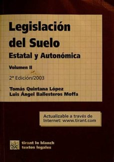 Ironbikepuglia.it Legislación Del Suelo, Estatal Y Autonómica. Volumen Ii Image