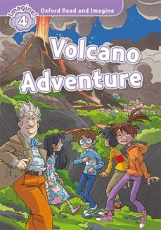Descarga gratuita de la colección de audiolibros. OXFORD READ AND IMAGINE 4. VOLCANO ADVENTURE (+ MP3) de  9780194021159