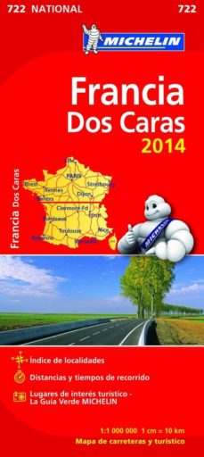 Vinisenzatrucco.it Mapa National Francia (Doble Cara) 2014 (Ref. 11722) Image