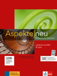 Descargar libros de texto en pdf gratis en línea ASPEKTE B1 PLUS LEHRBUCH + DVD