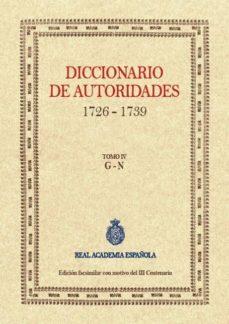 Inmaswan.es Diccionario De Autoridades (Tomo Iv) Image