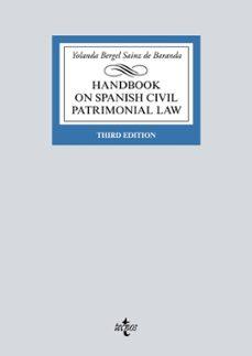 Padella.mx Handbook On Spanish Civil Patrimonial Law Image