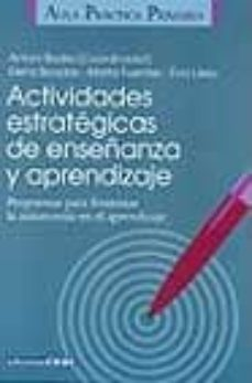 Descargar ACTIVIDADES ESTRATEGICAS DE ENSEÃ'ANZA Y APRENDIZAJE gratis pdf - leer online