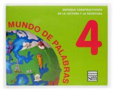 Permacultivo.es Lectoescritura Mundo De Palabras (Nivel 4) (5 Años. Educacion Inf Antil) Image