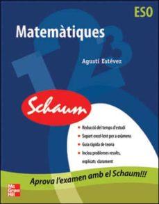 Encuentroelemadrid.es Matematiques (Schaum) (Eso) Image