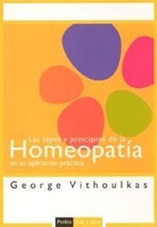 leyes y principios de la homeopatia en su aplicacion practica-george vithoulkas-9788449318559