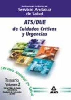 Trailab.it Ats-due De Cuidados Criticos Y Urgencias Del Servicio Andaluz De Salud: Temario (Vol. Ii) Image