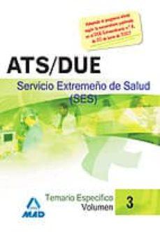 Alienazioneparentale.it Ats/due Del Servicio Extremeño Desalud (Ses) Temario Especifico Volumen Iii Image