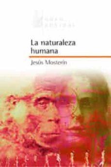 Jesus Mosterin La Naturaleza Humana Pdf