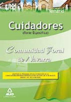 Lofficielhommes.es Cuidadores De La Comunidad Foral De Navarra Ii: Temario Especific O Image
