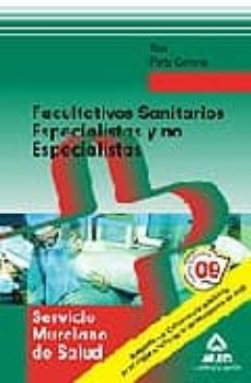 Curiouscongress.es Facultativos Sanitarios Especialistas Y No Especialistas Del Serv Icio Murciano De Salud. Test Parte General Image